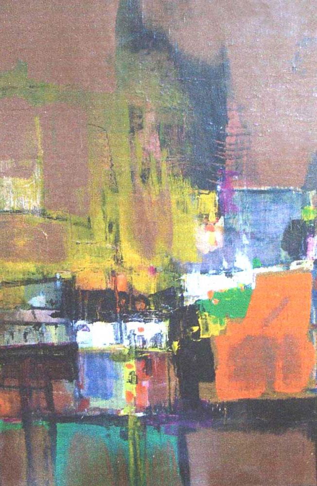 Pinturas abstractas francisco mir belenguer - Acrilico sobre lienzo ...