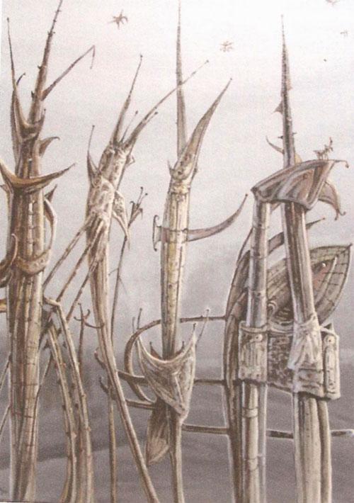 Familia bichos (imaginación)Acrílico sobre lienzo. Tamaño 73x60cm