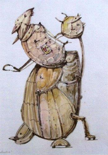 La Patinadora (imaginación)Acuarela Tamaño 30x22 cm
