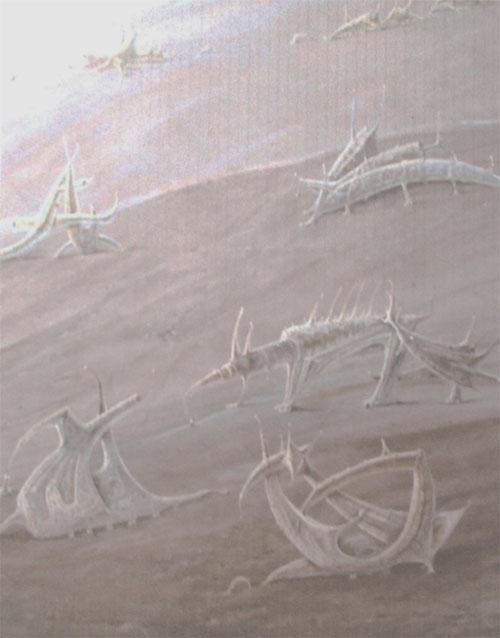 Serie parques- Bichos. (imaginación)Acrílico sobre lienzo. Tamaño 195x162cm