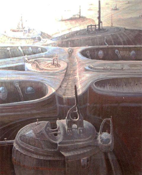 Tiempo de máquinas (7) (imaginación)Óleo sobre lienzo Tamaño 195x162cm