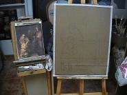 Inicio del boceto Mayo 2007